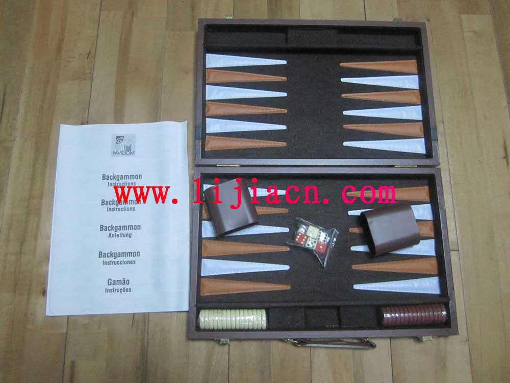 Ningbo Lijia Industry Co Ltd Products Backgammon